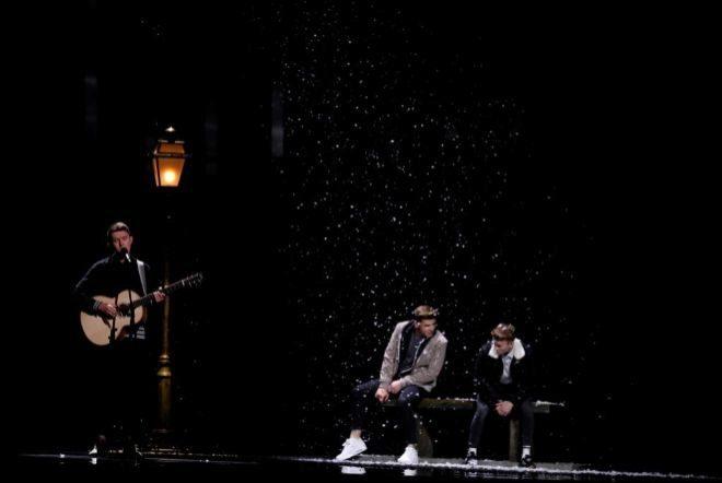 """El irlandés Ryan O'Shaughnessy canta """"Together"""" en Eurovisión 2018"""
