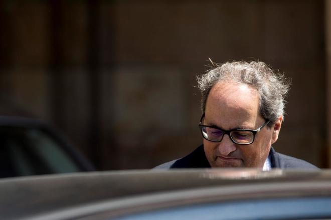 El candidato elegido por Puigdemont para presidir la Generalitat, Quim...
