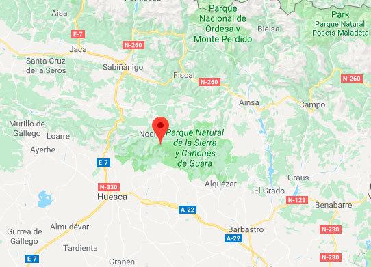 Fallece un barranquista en Huesca al caer de una altura de 25 metros