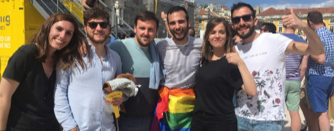 María Moreno, Paco Cuenca, Sergio Gutiérrez, Carlos López, Cristina...