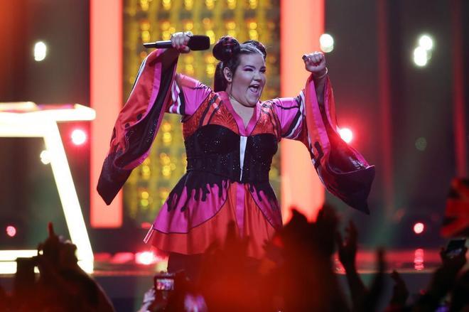Netta, representante de Israel, ganadora de Eurovisión 2018.