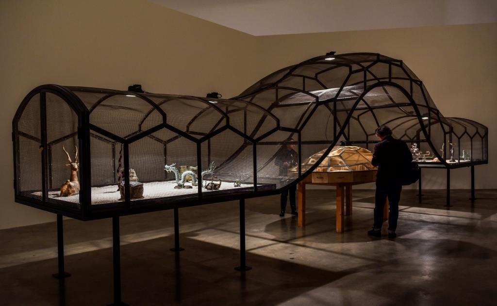 """Instalación """"El teatro del mundo"""" en el Guggenheim."""