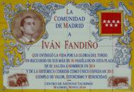 Un azulejo en los bhajos del Tendido 1 inmortaliza la trayectoria de Iván Fandiño en Las Ventas