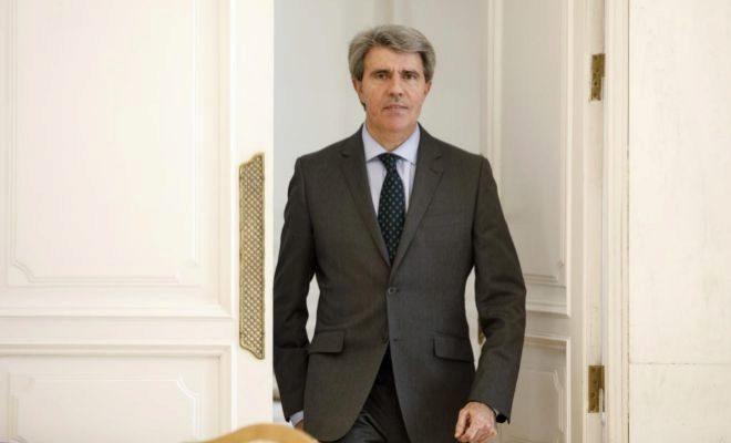 Ángel Garrido, presidente en funciones de la Comunidad de Madrid, el pasado viernes.