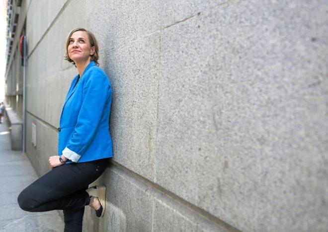 Tania Sánchez, candidata a la lista electoral de Podemos a la Comunidad de Madrid.
