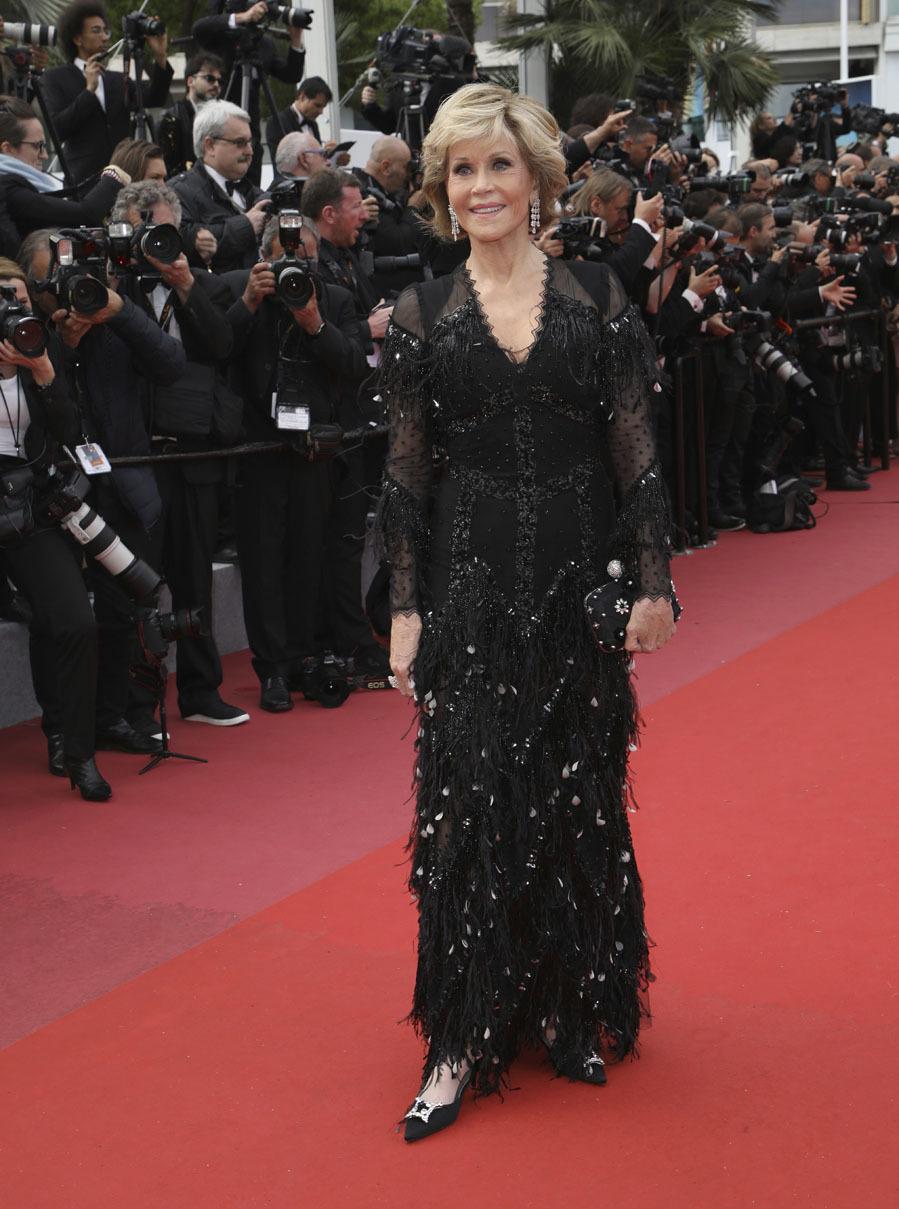 Jane Fonda vestido Givenchy