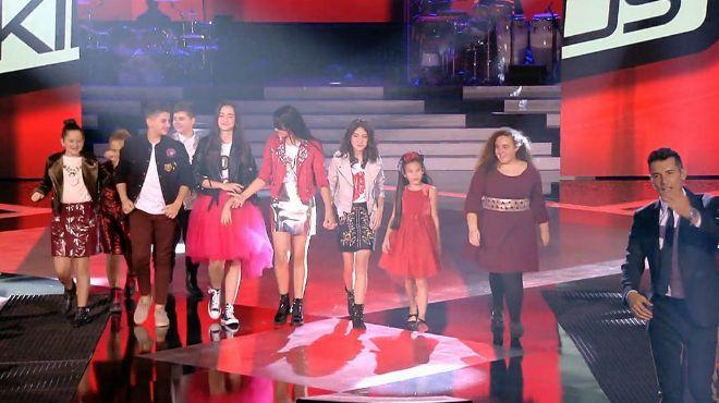 Nueve concursantes optan a ganar La Voz Kids 4