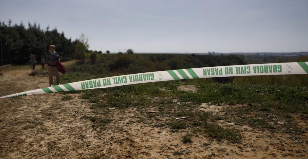 Lugar donde fue encontrado el cuerpo de Leticia Rosino.