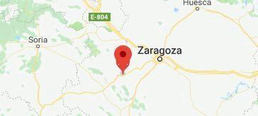 Se entrega el policía atrincherado en los juzgados de un pueblo de Zaragoza