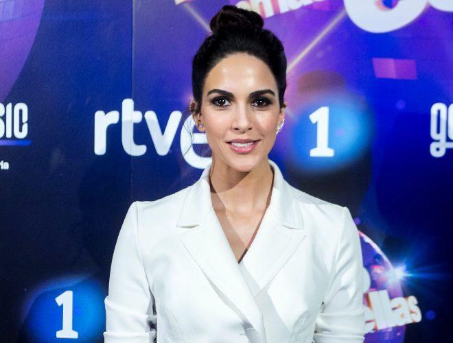 Rocío Muñoz durante la presentación del programa 'Bailando con las estrellas'