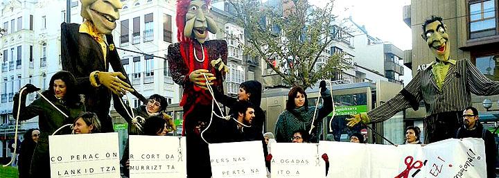 Campaña anterior de sensibilización de las ONGD vascas.