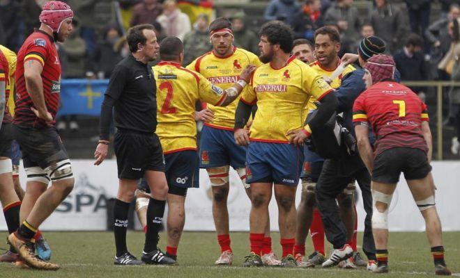 Iordachescu, durante el Bélgica-España del pasado marzo.