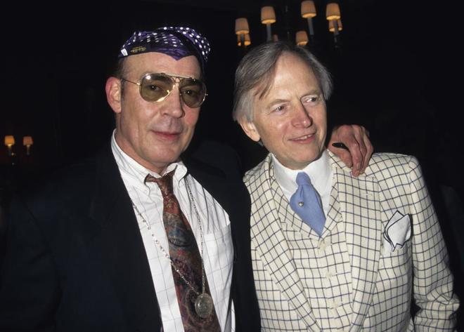 Tom Wolfe (dcha.), con Hunter S. Thompson.