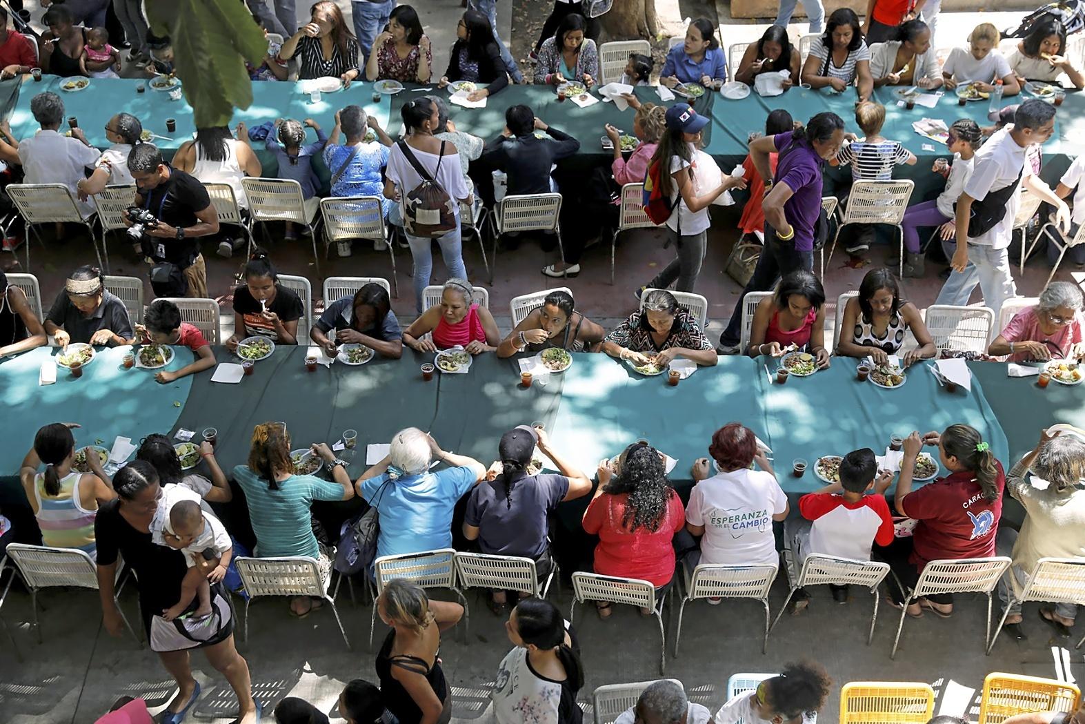 La campaña del hambre en Venezuela
