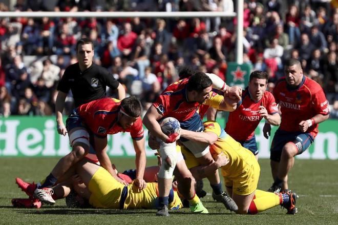 Imagen del España-Rumanía, de clasificación para el Mundial de 2019.