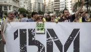 Los nuevos movimientos sociales diluyen el espíritu del 15-M