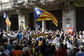 Asedio a la Consejería de Economía el 20 de septiembre durante el...