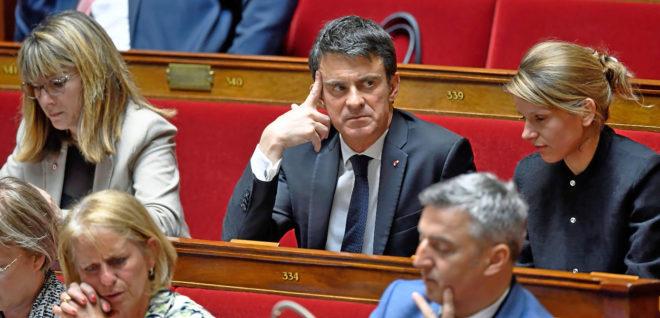 El ex primer ministro francés y posible candidato de Cs por...