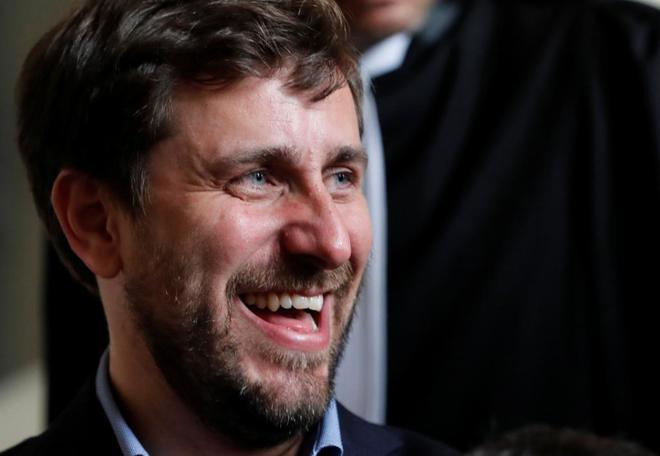El ex consejero de Sanidad de la Generalitat, Toni Comín