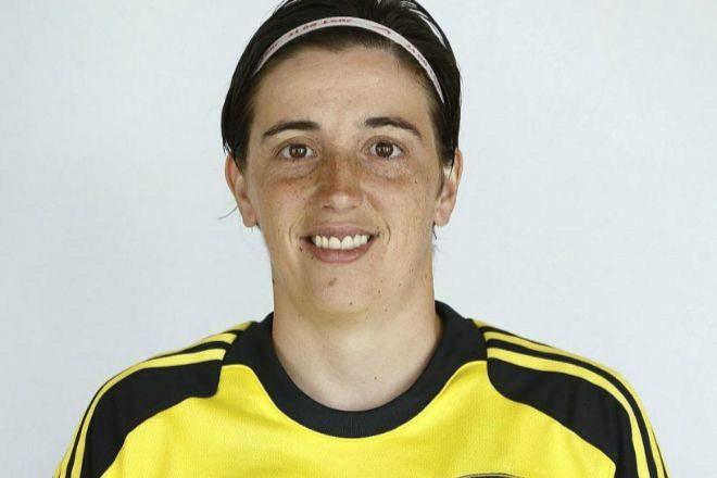 Mariajo Pons, portera internacional de la selección española.