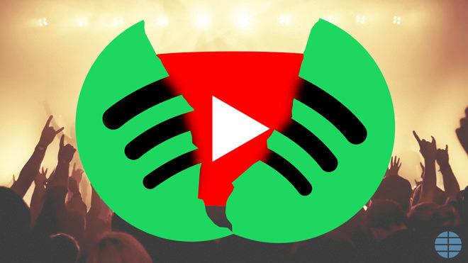 Youtube Music, el invento de Google para acabar con Spotify