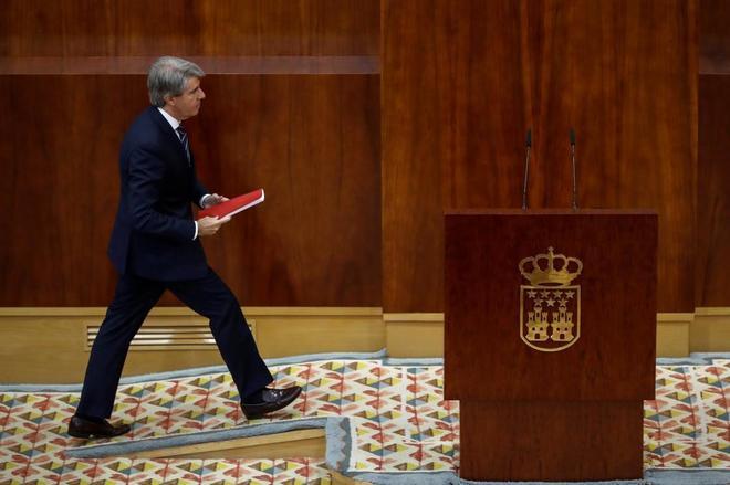 El presidente en funciones de la Comunidad de Madrid, Ángel Garrido.