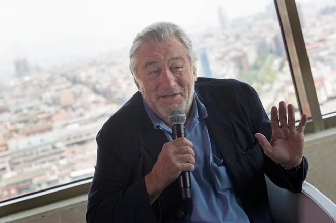 El actor estadounidense en la presentación de su hotel este viernes en Barcelona