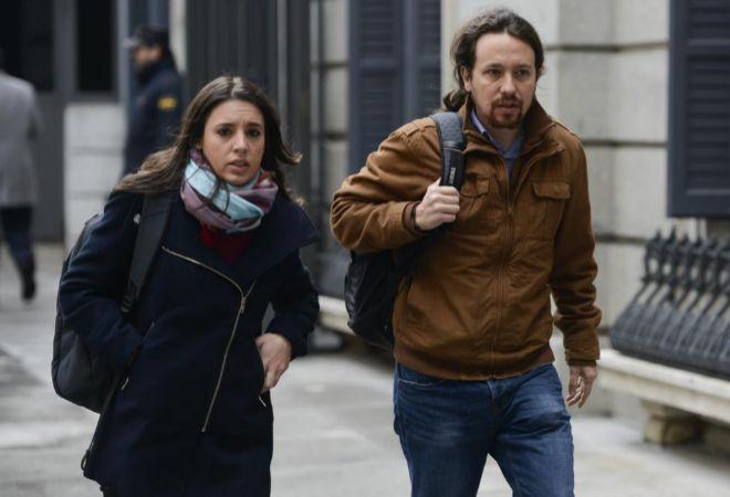 Irene Montero y Pablo Iglesias, en una imagen reciente.