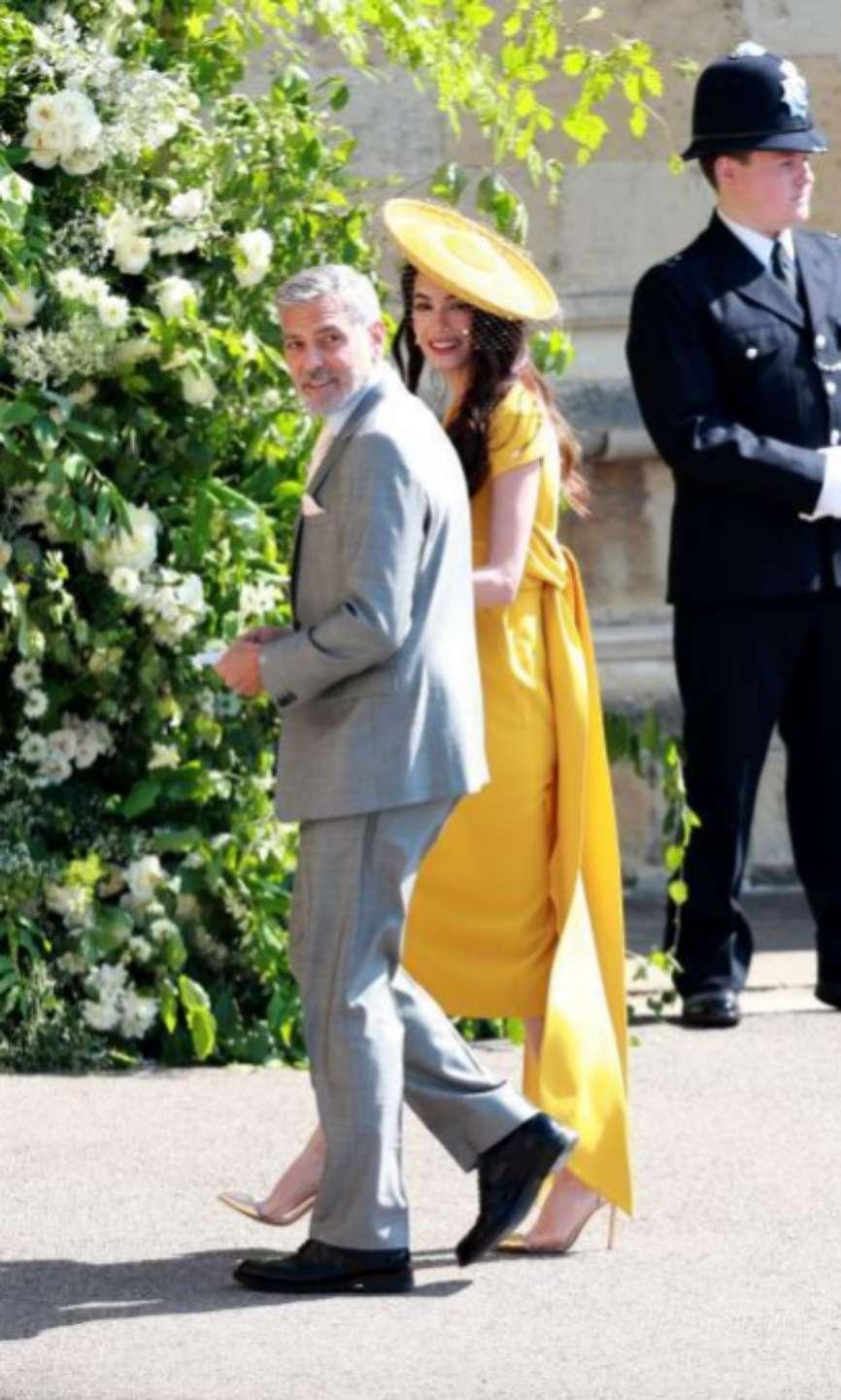 Hollywood ha tenido una gran representación en Windsor: entre los más aclamados, la estrella George Clooney y su esposa, la abogada Amal