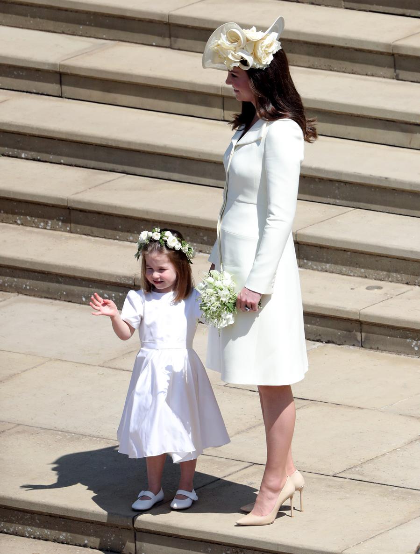 e37fd1188 Kate Middleton recicló vestido por cuarta vez para la boda de Meghan Markle