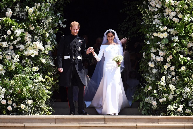 Los duques ya son marido y mujer.