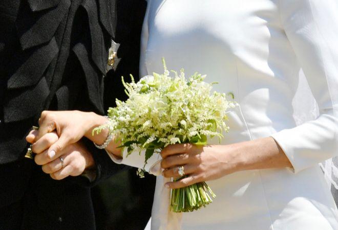 Meghan Markle y el príncipe Harry ya son marido y