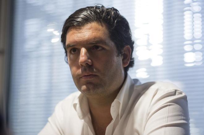 El empresario venezolano, Alejandro Betancourt, principal inversor de...