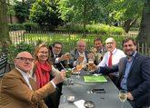 Puig, Serret y Comín celebran con sus abogados en Bruselas no haber...