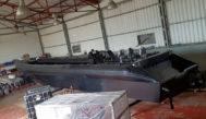 Un 'narcoastillero' desmantelado en Puerto Real, Cádiz. Estuvo fabricando al menos durante tres años.