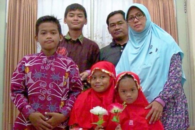 La mamá kamikaze y todos los integrantes de su familia.