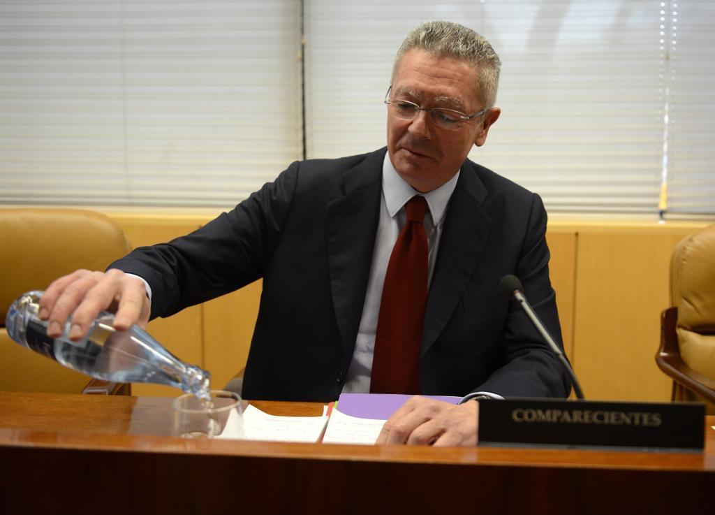 Gallardón acusa a la Guardia Civil de copiar argumentos en su contra de una web del 15-M