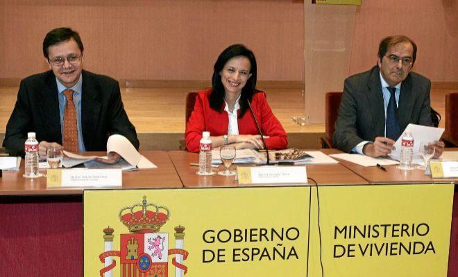 La ex ministra de Vivienda, Beatriz Corredor, en un acto en Valencia en su etapa al frente del Ministerio.