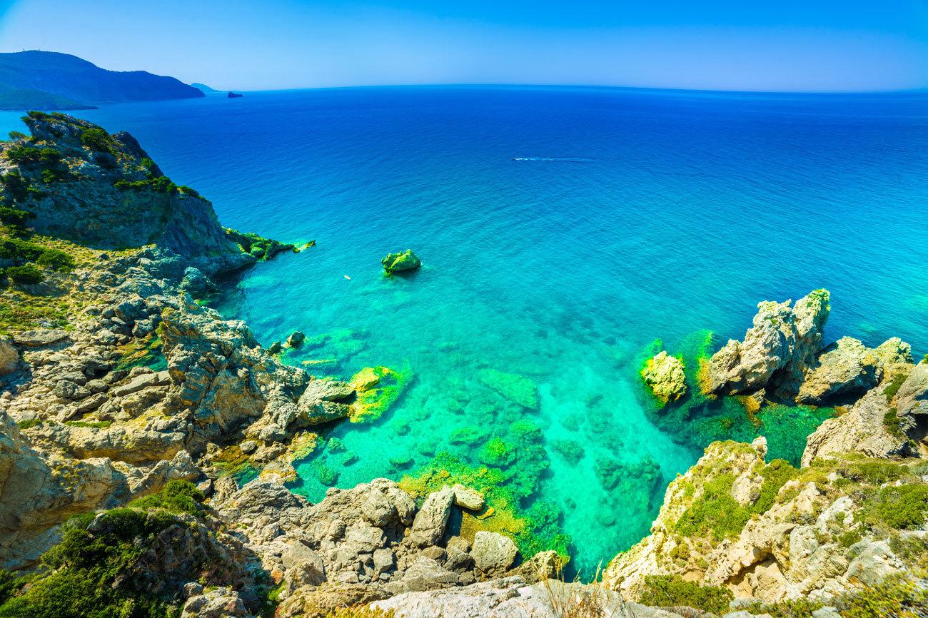 Para admirar la profundidad del mar y zambullirse en distintos tonos...