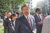 El ministro de Justicia, Rafael Catalá, en el Colegio de Abogados de...