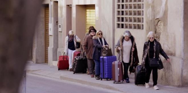 Seis de las siete andaluzas que se trasladan a Cataluña en 'Bienvenidas al norte, bienvenidas al sur'.
