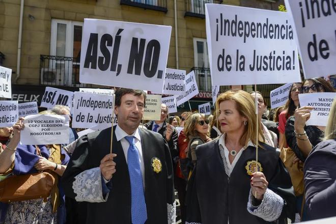 Justicia no logra frenar la amenaza de huelga de jueces