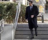 Eduardo Zaplana en la Audiencia Nacional el pasado diciembre por el...