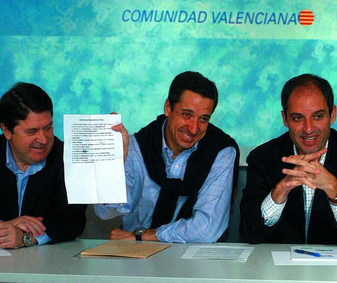 Eduardo Zaplana, detenido en Valencia por la Guardia Civil por