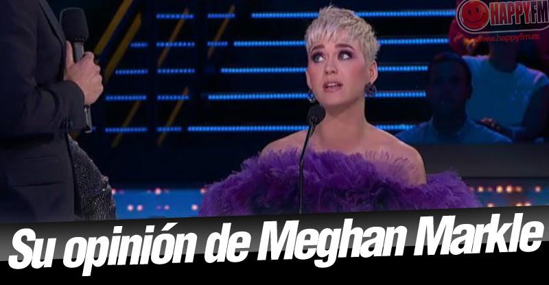 Meghan Markle y su vestido de boda, criticados por Katy Perry