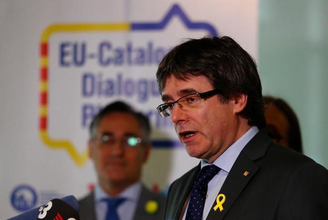 La Fiscal�a alemana pide la entrega de Puigdemont a Espa�a por rebeli�n y des�rdenes p�blicos