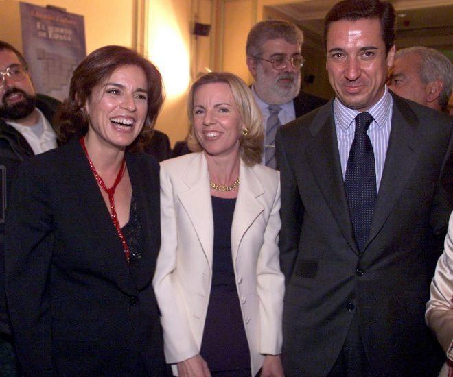 El matrimonio Zaplana junto a Ana Botella en una imagen de archivo