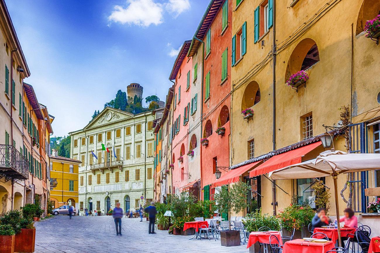 Emilia-Romaña, en Italia, es el destino europeo número uno en la...