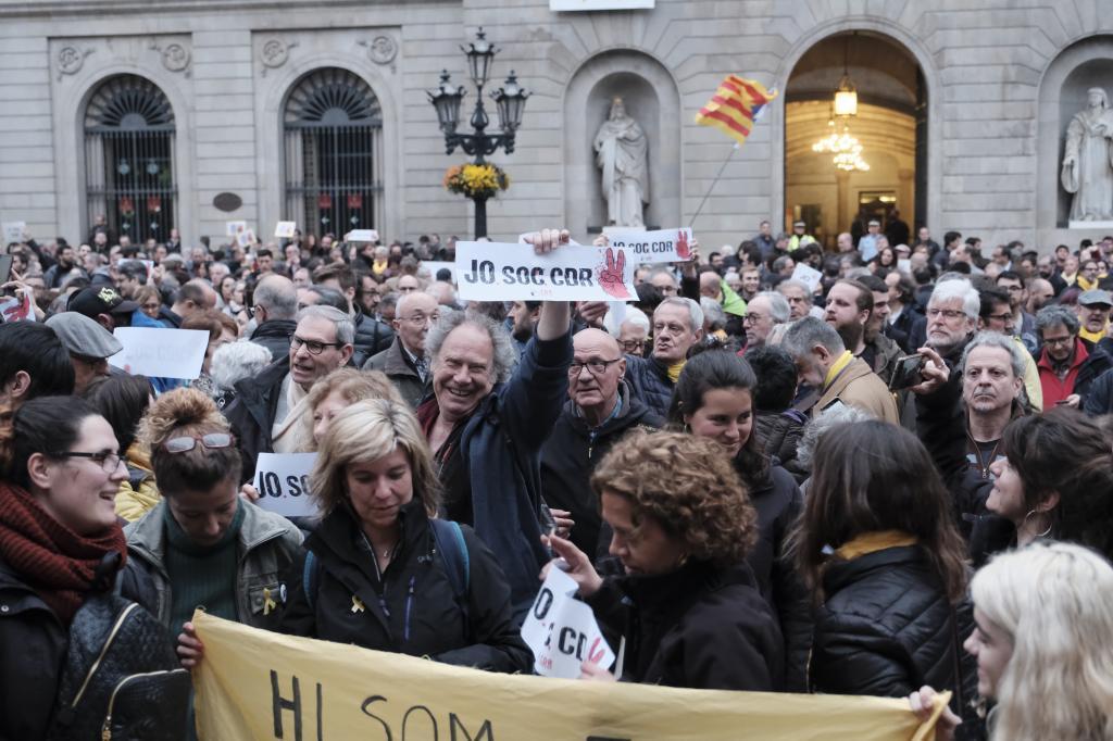 Los CDR piden una protesta en la calle contra la
