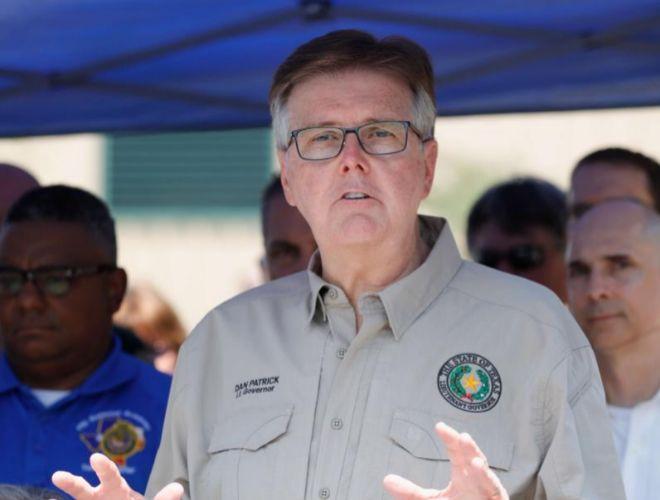El vicegobernador de Texas, Dan Patrick.